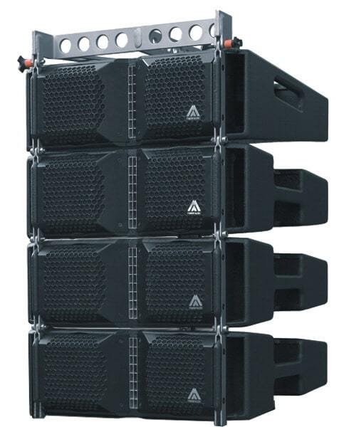 Speakerset Line Array vanaf 500 personen