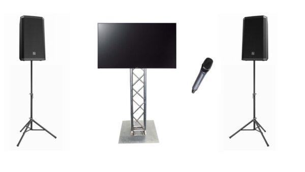 presentatieset audio-video